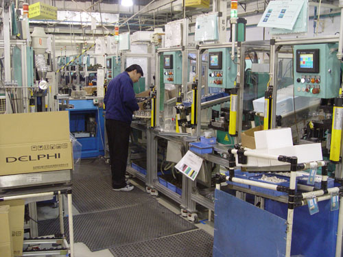 Auto Electric automated production line design